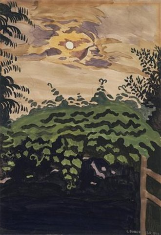 "Charles Burchfield's ""Moonlight Over the Arbor"""