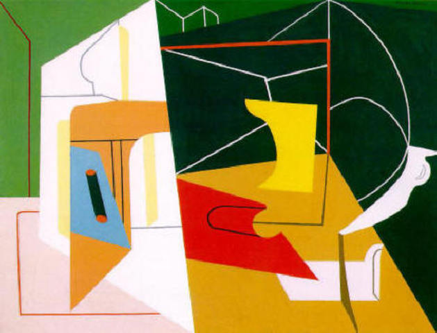 "Stuart Davis' ""Egg Beater No.4"""