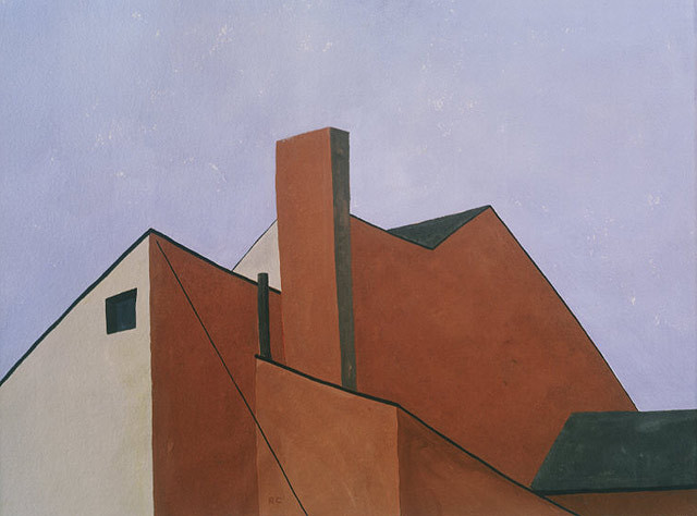 "Ralston Crawford's ""Factory Roofs"""