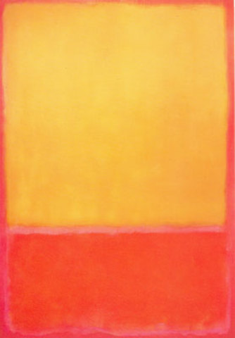 Mark Rothko's Ochre and Red on Red""