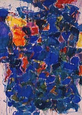 "Sam Francis' ""Blue"""