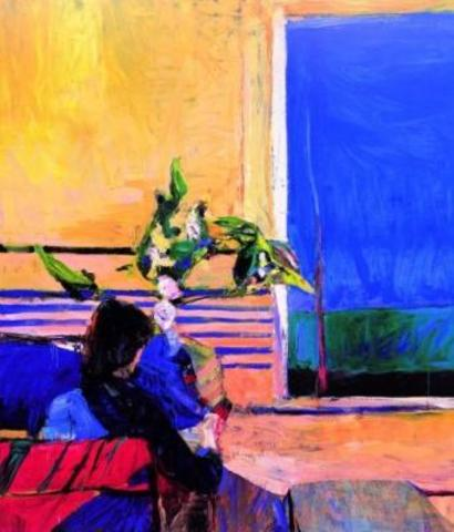 "Richard Diebenkorn's ""Girl with Plant"""