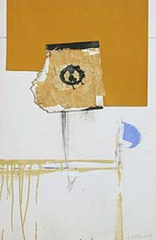 "Robert Motherwell's ""In White and Yellow Ochre"""