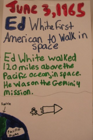 Ed White-First American to walk in Space