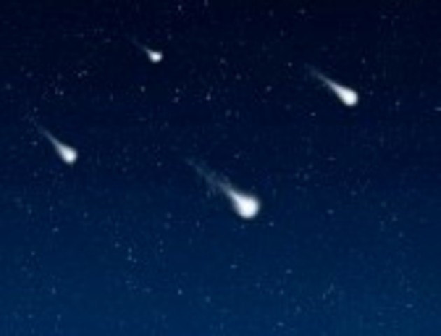 First Lyrid Meteor Shower