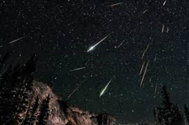 Persied Meteor Shower Sighting