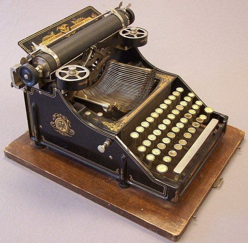 Christopher Latham Sholes invents the typewriter