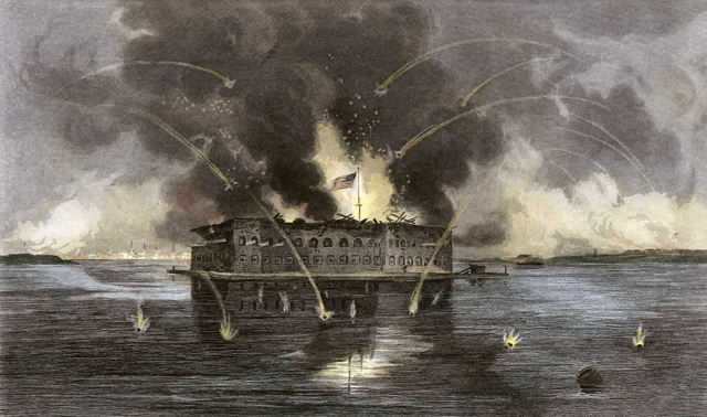 The Civil War Begins/Fort Sumter