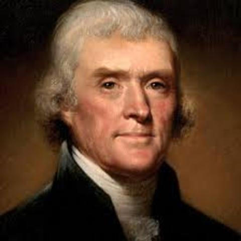 Thomas Jefferson Inauguration