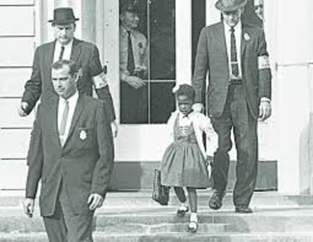 Road to stopping segregation: Ruby Bridges