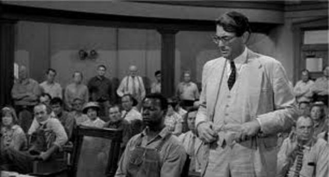 atticus finch going against the grain Temerity to 'feel sorry' for a white woman has had to put his word against two white people's confident that you gentlemen would go along with them on the assumption the evil assumption that all negroes lie activity 522 analyzing atticus's closing argument.