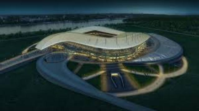Olympic Stadium and Ice Arenas are finished