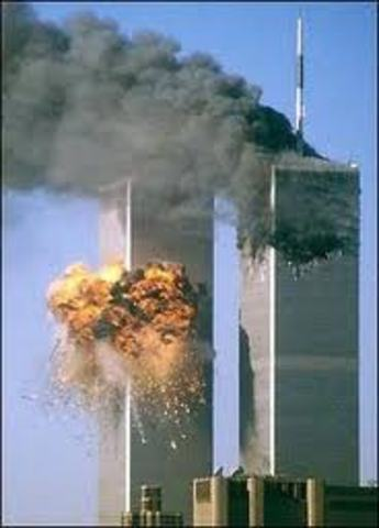 Twin Towers Destroyed 9/11