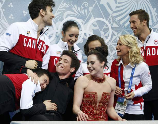 Team figure skating
