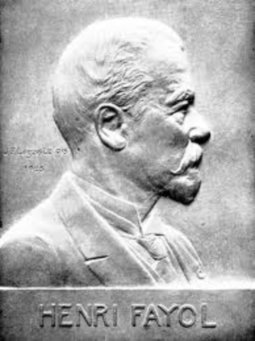 history of henry fayol Origin of the 14 principles of management history henri fayol (1841-1925) was a french management theorist whose theories in management and organization of labor were widely influential in the beginning of 20th century.