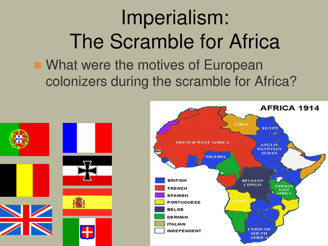 the scramble for africa in late The scramble for africa in the early 1800s, european nations had just little land in africa, holding only areas along in the late 1180s.