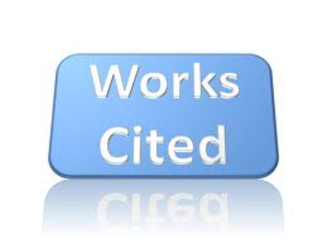Image result for works cited important