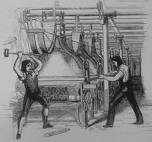 Start of the Luddites Revolution