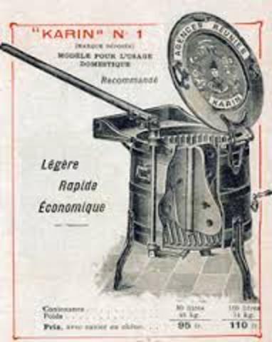 Principales volutions des solutions techniques du lavage - Premiere machine a laver ...