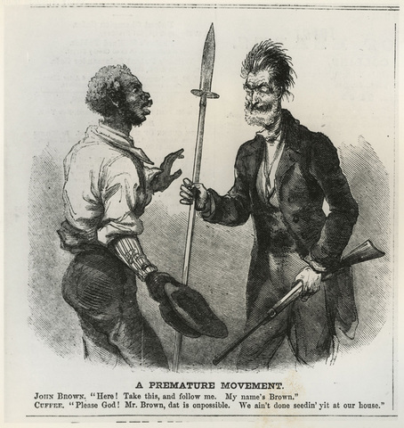 the life and fight against slavery of john brown Today in history - october 16 if it is deemed necessary that i should forfeit my life did john brown draw his sword against slavery and thereby lose his.