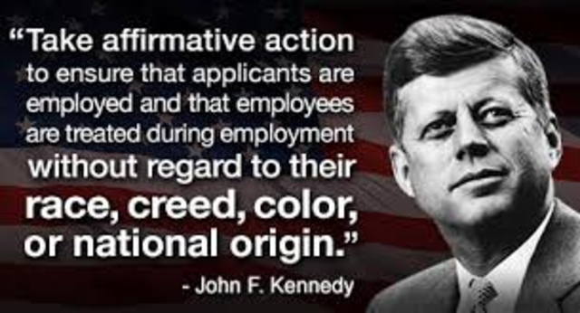 a history of racial discrimination and affirmative action in the united states Affirmative action and racial tension  affirmative action as racial discrimination the  affirmative action is the wrong action the united states of america.