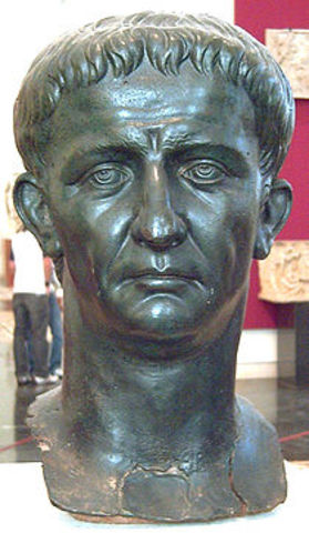 Claudius- 41 A.D.  to 54 A.D.
