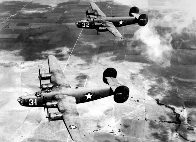 First bombing of Germany by Americans