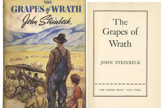 the grapes of wrath economics book