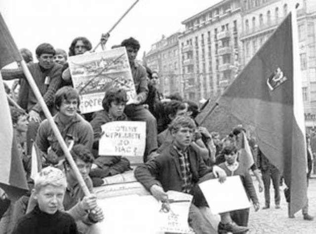 the cause of hungary and czechoslovakia rebellion on soviet domination Hungary has come furthest toward accommodating dissent, but its once-rebellious people risk their jobs if too outspoken and in hungary, czechoslovakia and bulgaria, aged leaders hang on in the absence of a regular mechanism of political renewal.