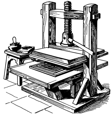 invention of the gutenberg press started the first information revolution Gutenberg and the book that changed the world june 22  what came with this first book was a massive leap in it is unknown what gutenberg's press looked.