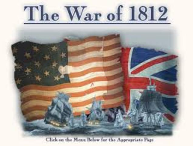 The war of 1812 timeline timetoast timelines war is declared publicscrutiny Gallery