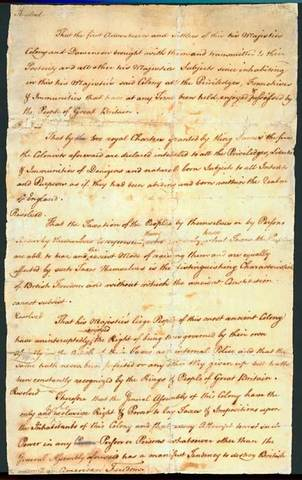Virgina Stamp Act Resolutions