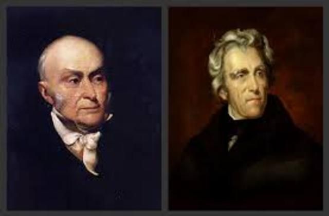 john quincy adams and andrew jackson relationship