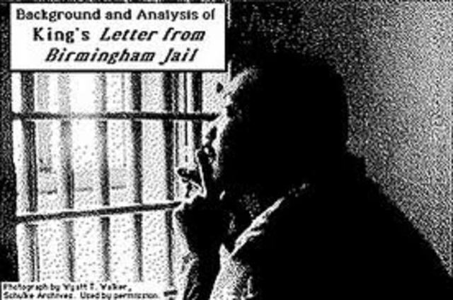 the strong moral values as portrayed in kings letter from birmingham jail One of these is the letter from birmingham jail analysis of the letter from birmingham jail by martin luther king, jr by is immaterial in creating a strong.
