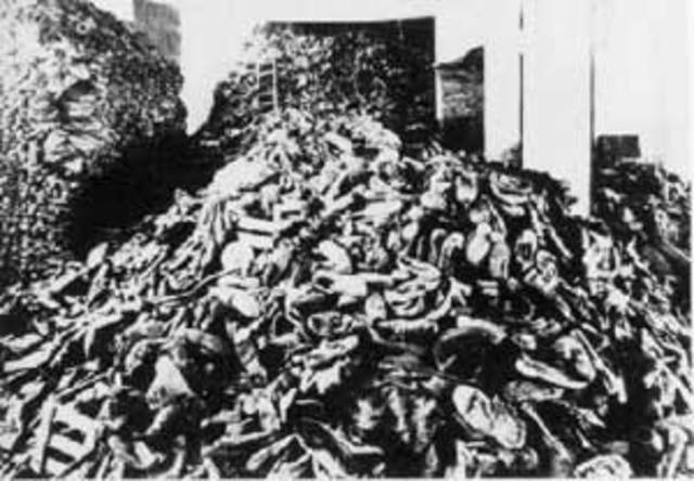 Extermination begins in Belzec; by end of 1942 600,000 Jews murdered