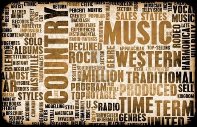 The History Of Country Music Timeline