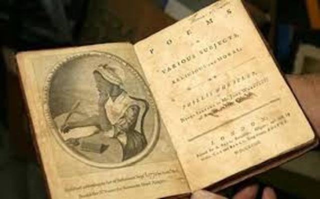 an analysis of the topic of slavery and the topic of phillis wheatley View this term paper on phyllis wheatley poetry and african-american print culture in times of hardship a community often finds a voice through which it can.