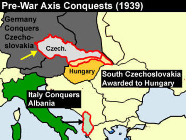 events in czechoslovakia in 1938 1939 essay A crisis in czechoslovakia threw europe into turmoil in 1938 czechoslovakia  had been created in 1919 the new nation was created out of the.