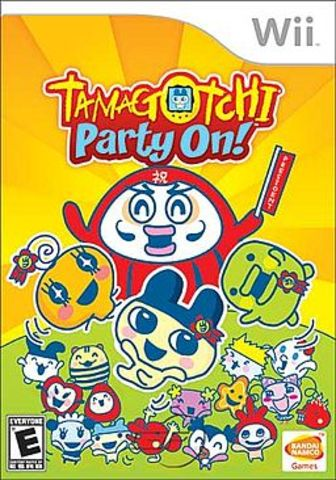 """Tamagotchi: Party On!"" For Wii."