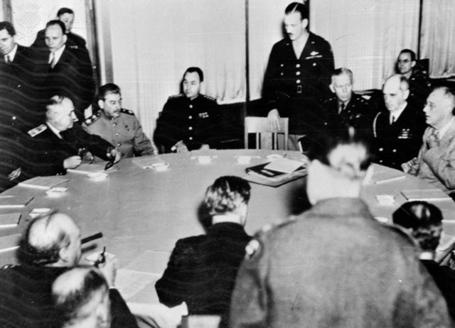 Yalta conference date