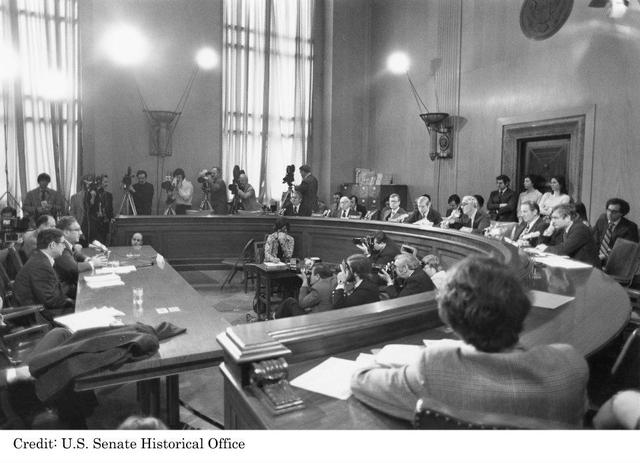 Senate Watergate Committee established