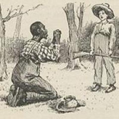 huckleberry finn an argument against slavery A window to jim's humanity: agreed that ahf provided better argument against slavery than harriet beecher 2 adventures of huckleberry finn became best.