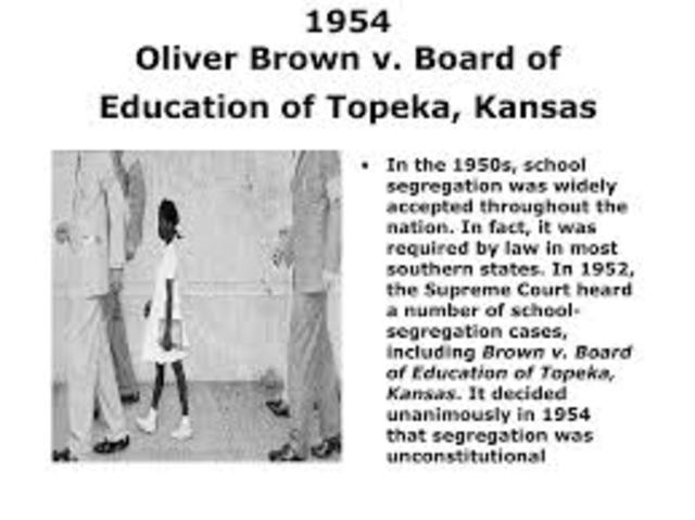 brown v. board of education 1954 essay Brown v the board of educationan essay about a supreme court case that changed our segregation laws in the us in 1944 it includes an outline and bibliographybrown v the board of education of topeka kansasi.
