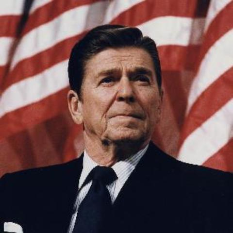 did ronald reagan end the cold
