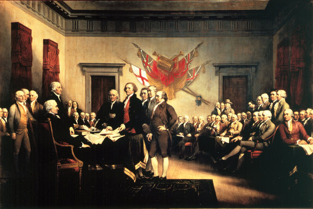 the history of the declaration of independence in usa