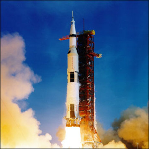 Launched Apollo 11
