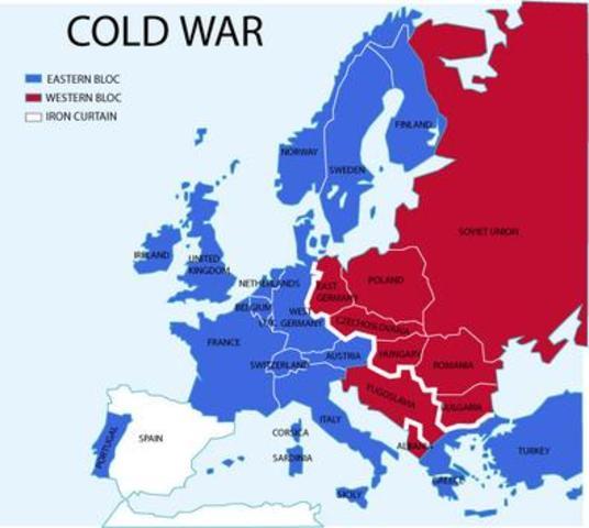 The Cold War: 1945-1963 timeline | Timetoast timelines