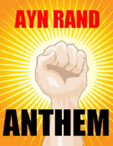 ayn rand s anthem and equality A stunning and brilliantly realized future world in which individuality has been crushed is the theme of ayn rand's bestselling masterpiece, anthem rand presents her tale of a man who dares to make individual choices, to seek knowledge in a dark age, to love the woman of his choice.