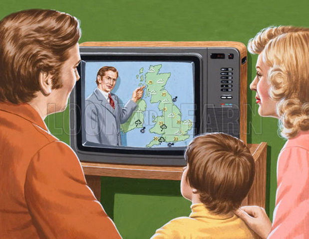 First Broadcast of Colour Television