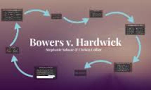 bowers v hardwick In the next term, the court issued bowers v hardwick, the 5-to-4 decision in which justice powell's vote was crucial.